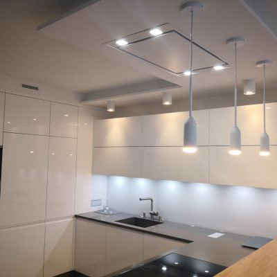 Nowoczesna – biała kuchnia
